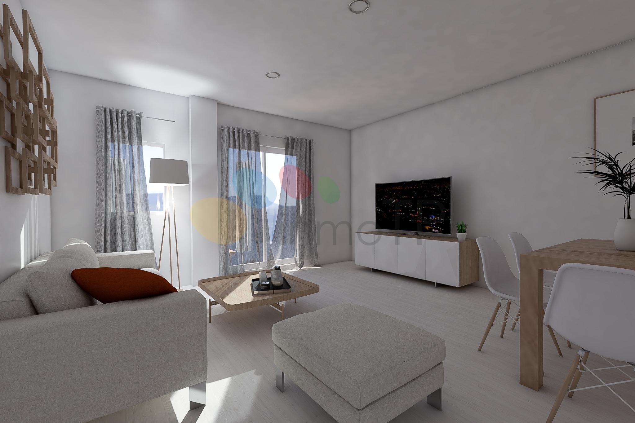 iTP-0227 Piso luminoso con 4 habitaciones y 2 baños